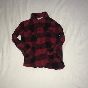 Plaid Little Boys Shirt
